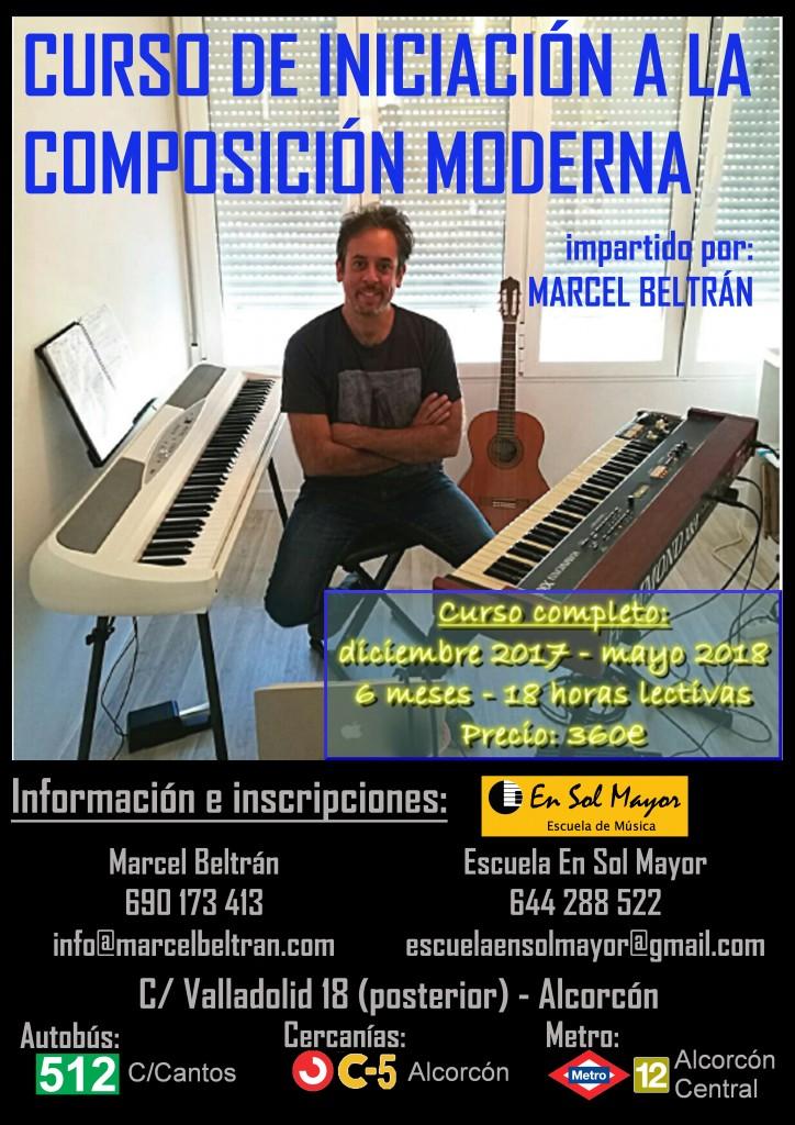 Curso de Iniciación a la Composición Moderna